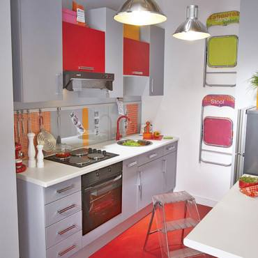 Am nager une petite cuisine plans pluriel - Amenager petite cuisine ouverte ...