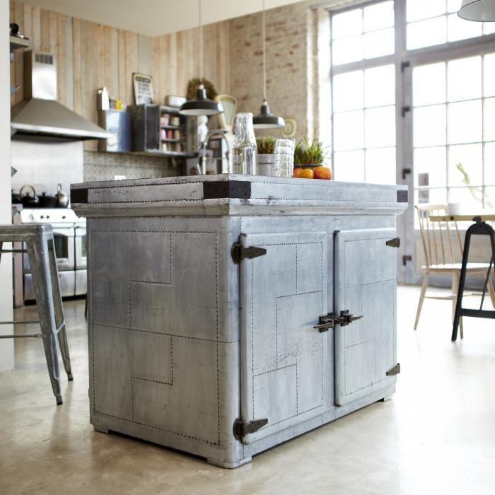 Convertissez votre table en meuble arty avec une plaque de - Ilot cuisine maison du monde ...