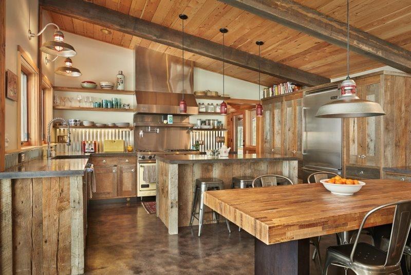 Relooker une cuisine rustique plans pluriel - Relooker une cuisine rustique ...