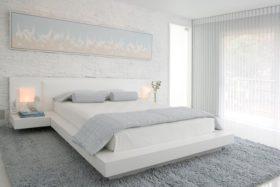 chambre blanc