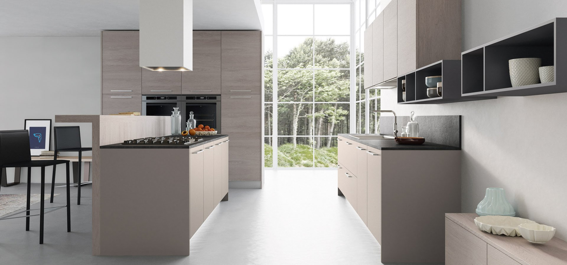 notre partenaire les cuisines schr der kuchen plans pluriel. Black Bedroom Furniture Sets. Home Design Ideas
