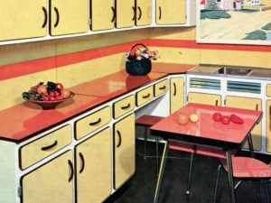 Home staging de cuisine en Formica