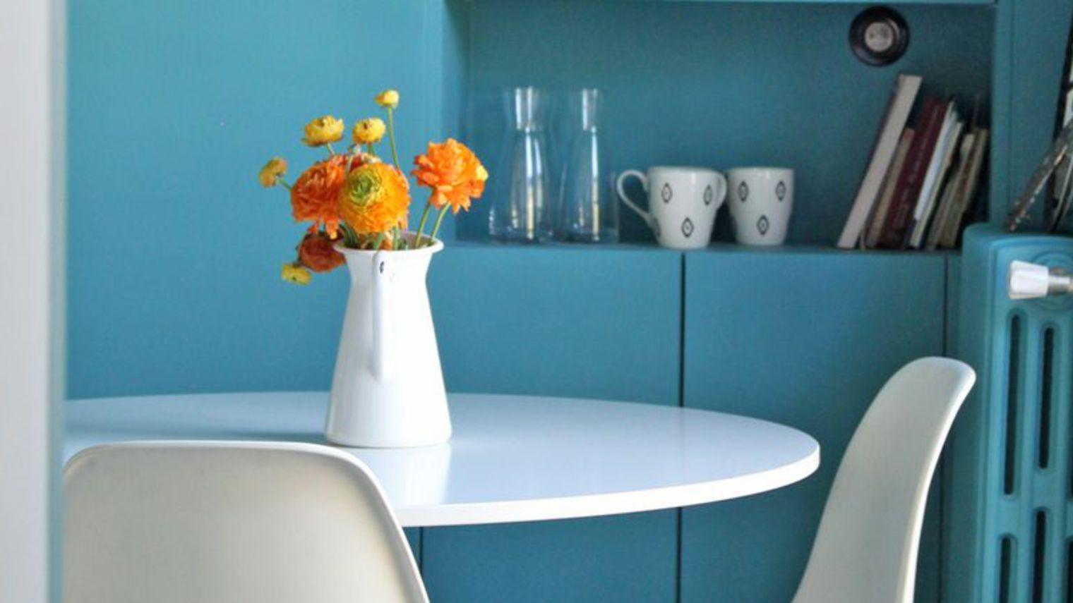 Travaux d 39 int rieur la peinture en cuisine plans pluriel for Peinture pour plafond de cuisine