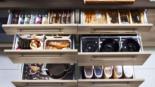 Les id es de rangement de cuisine faire soi m me plans pluriel - Idee rangement cuisine ...