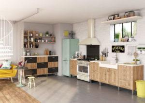Le look vintage spécifique pour l'aménagement de la cuisine