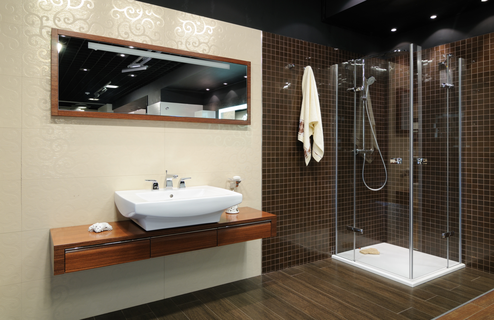 aménagement salle de bain : les principes à respecter   plans pluriel