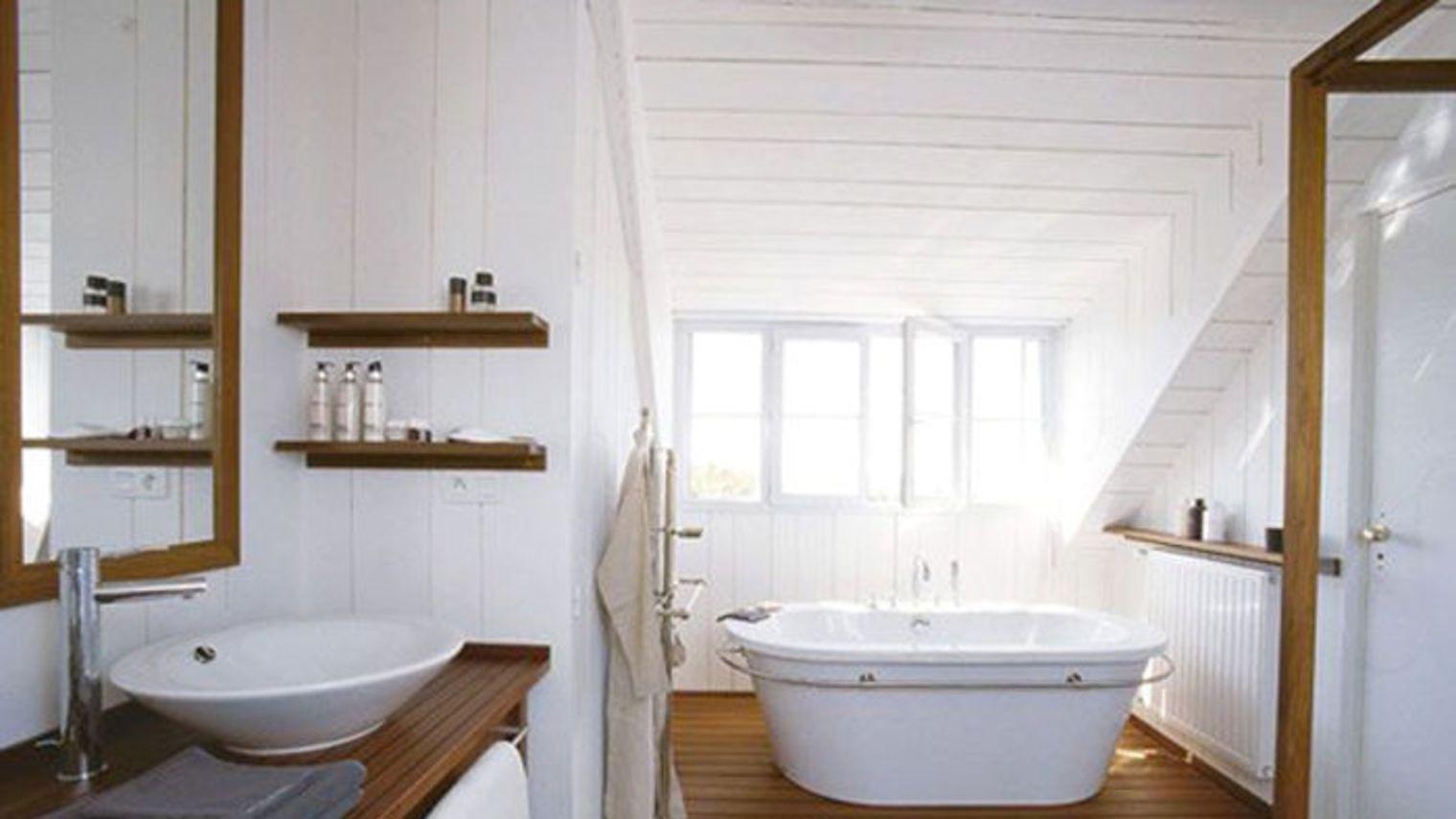 Recouvrir Du Lambris Bois déco salle de bain : les atouts du lambris | plans pluriel