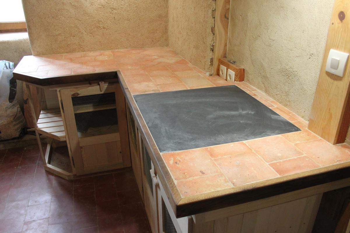 La conception d 39 un plan de travail de cuisine en palette de bois plans pluriel - Cuisine en palette ...