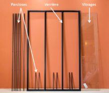 Toutes les astuces pour l'installation d'une verrière intérieure en kit