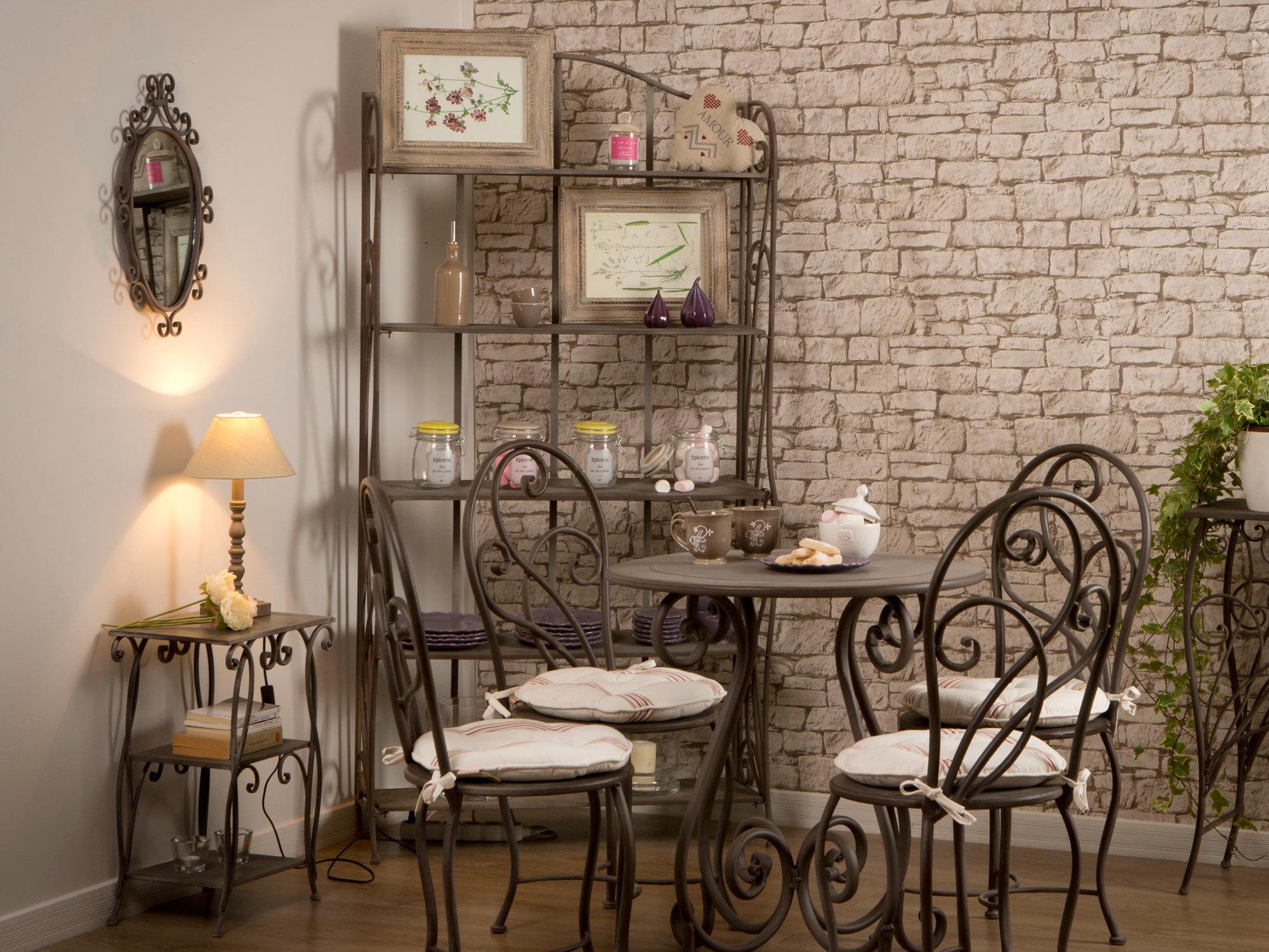 étagères De Cuisine En Fer Forgé - Salon.maisonn19.com