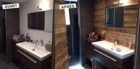 Home staging salle de bains astuces gain de place