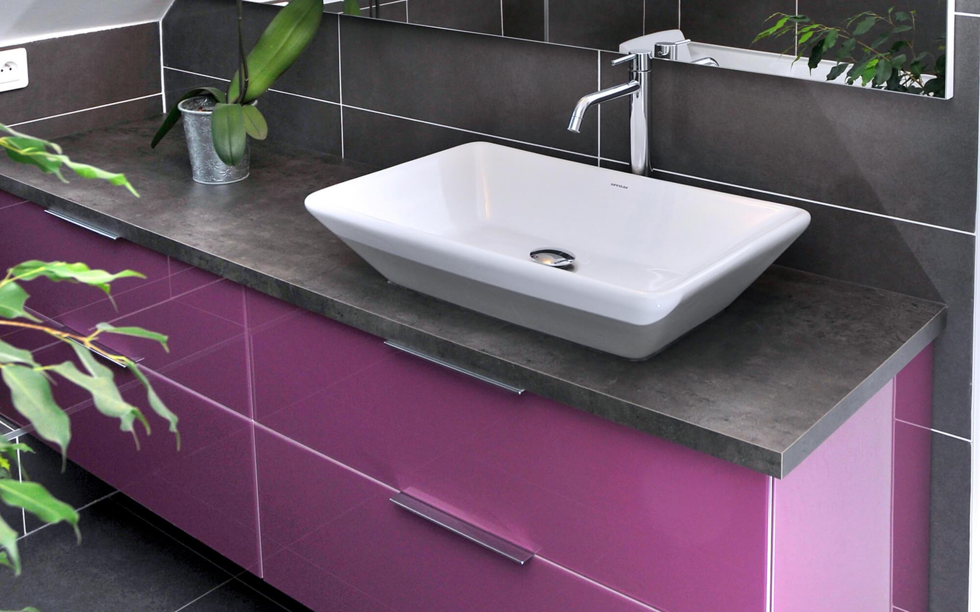Vasque D Angle De Salle De Bain salle de bains : les différents types de vasques | plans pluriel