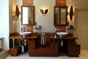Agencement Salle de bains adoptez le style colonial