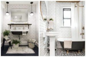 Déco salle de bains optez pour le rétro chic